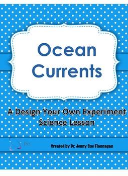 STEM Ocean Currents Design Your Own Experiment