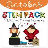 STEM - October Halloween Themed Challenges