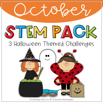 STEM - October Halloween Themed Challenges