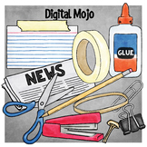 STEM Office Supplies Clipart