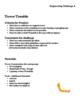 STEM- Operation Tower Trouble- A Wendell Worm Adventure