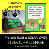 STEM PBL Making a Solar Oven