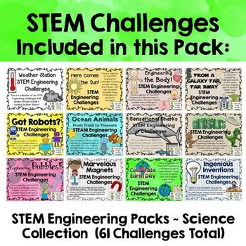 STEM Pack Collection on 4 CDs ~ NSTA Special Pricing