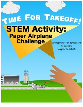 STEM Paper Airplane Challenge; Time for Takeoff!