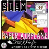 STEM Paper Airplane Challenges