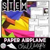 Paper Airplane STEM Activity | Google Classroom | Digital
