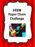 STEM Paper Chain Challenge