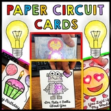 STEM - Paper Circuit Cards - Templates - Makerspace - Step by Step | BUNDLE