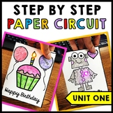 STEM - Paper Circuit Cards - Templates - Makerspace - Step by Step | Unit One
