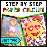 STEM - Paper Circuit Cards - Templates - Makerspace - Step by Step | Unit Two
