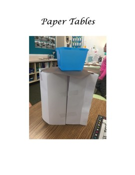 STEM Paper Tables