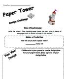 STEM: Paper Tower Design Challenge