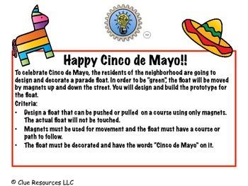 STEM Parade Floats for Cinco de Mayo!