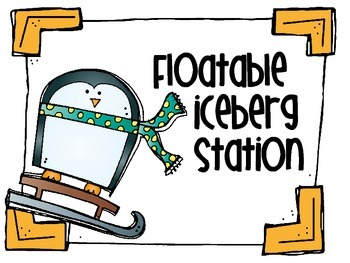 STEM Penguin Winter Antics Stations