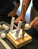 STEM Ping Pong Ball Launcher Challenge