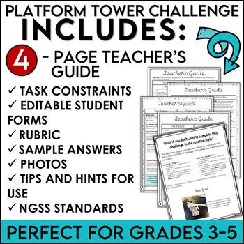 STEM Quick Challenge Platform Towers