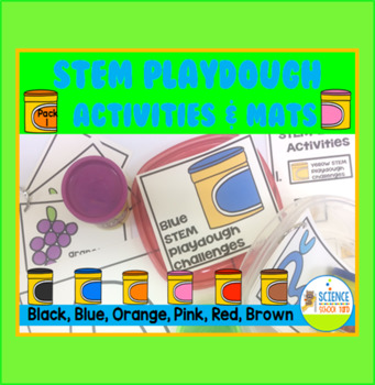 STEM Play Dough Color Stations Pack 1