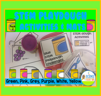 STEM Play Dough Color Stations Pack 2