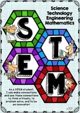 STEM Poster - Hexagon Pattern