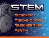STEM Poster Blue