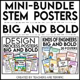 STEM Poster Mini Bundle Big and Bold Version