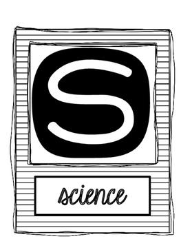 STEM Posters: A freebie