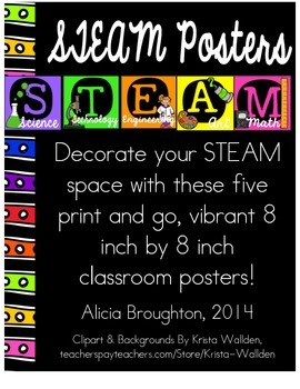 STEAM Posters - Print & Go!