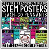 STEM Posters for Classroom & STEM Writing Teach-Go Pennant