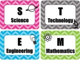 STEM Posters and 4 C's of 21st Century Learners