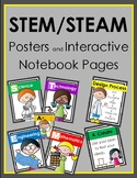 STEM / STEAM Posters and Interactive Notebook Pieces