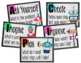 STEM Posters and Supply Labels BUNDLE