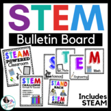 STEM Bulletin Board Posters for the Classroom