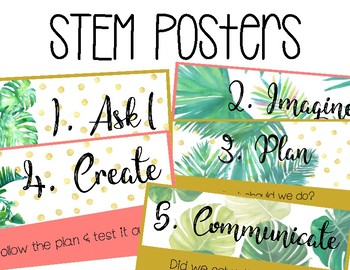 STEM Posters_Kate Spade Themed