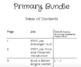 STEM Primary Bundle
