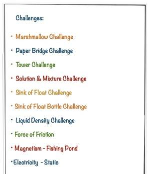 STEM Engineering Challenges - Ten Pack