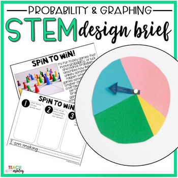 STEM Probability & Graphing: Spin It!