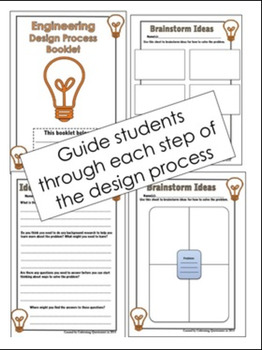 STEM Process Booklet Bundle: Scientific Method & Design Process