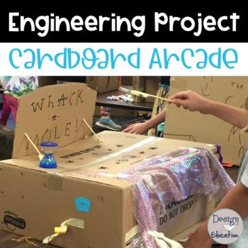 STEM Project Cardboard Arcade