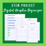 STEM Project Digital Graphic Organizer (Distance Learning)