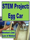 STEM Project: Egg Car Newton's 2nd Law of Motion