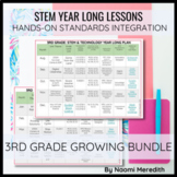 STEM Project Ideas for 3rd Grade   Growing Year Long Bundle