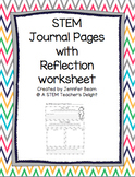 STEM Project Journal Pages