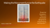 STEM Project: Making the Monument Survive the Earthquake