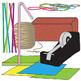 STEM Project Materials Clip Art Set