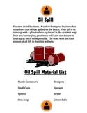 STEM Project Oil Spill