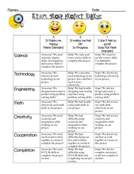 STEM Project Rubrics