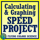 STEM Project:  Speed & Speed Graphs FINAL PROJECT  NGSS  MS-PS3-1