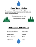 STEM Project Water Filter