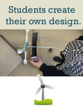 STEM Project: WIND TURBINE Alternative Energy Inquiry
