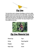 STEM Project Zip Line